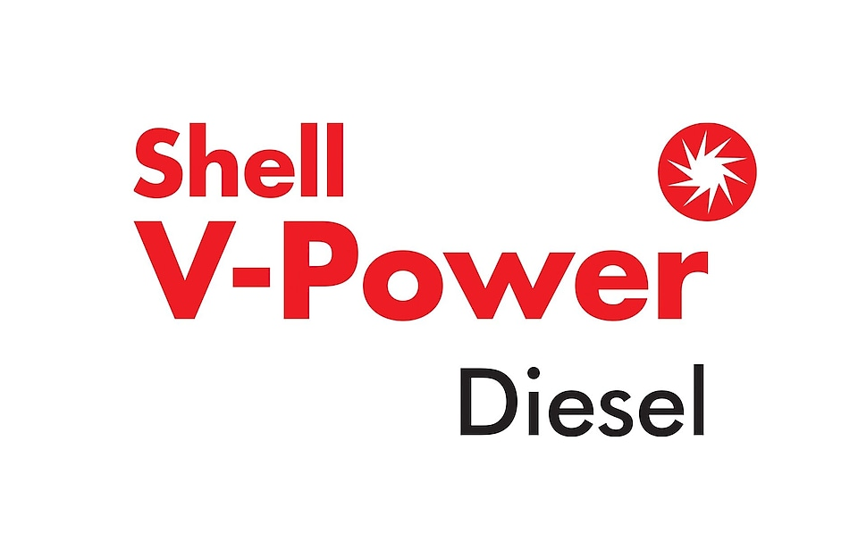 shell v-power dizel logosu